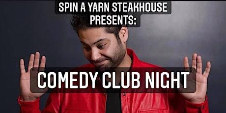 Spin a Yarn Thursday Comedy Night with Kabir Singh tickets