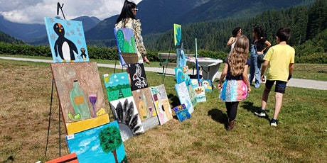 Mix media art & Picnic with the young artists (age 9-13) tickets