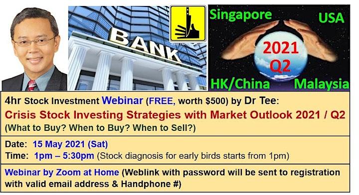 Dr Tee Webinar: 10 Secrets of Making Money in Stock, Property, Bond, Forex image