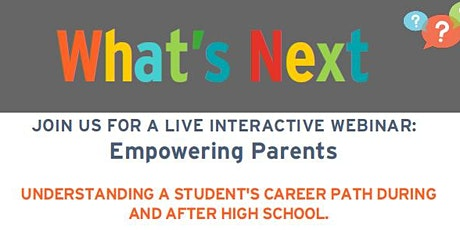 Next Steps - Empowering Parents tickets
