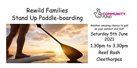 ReWild Family Stand Up Paddleboarding tickets