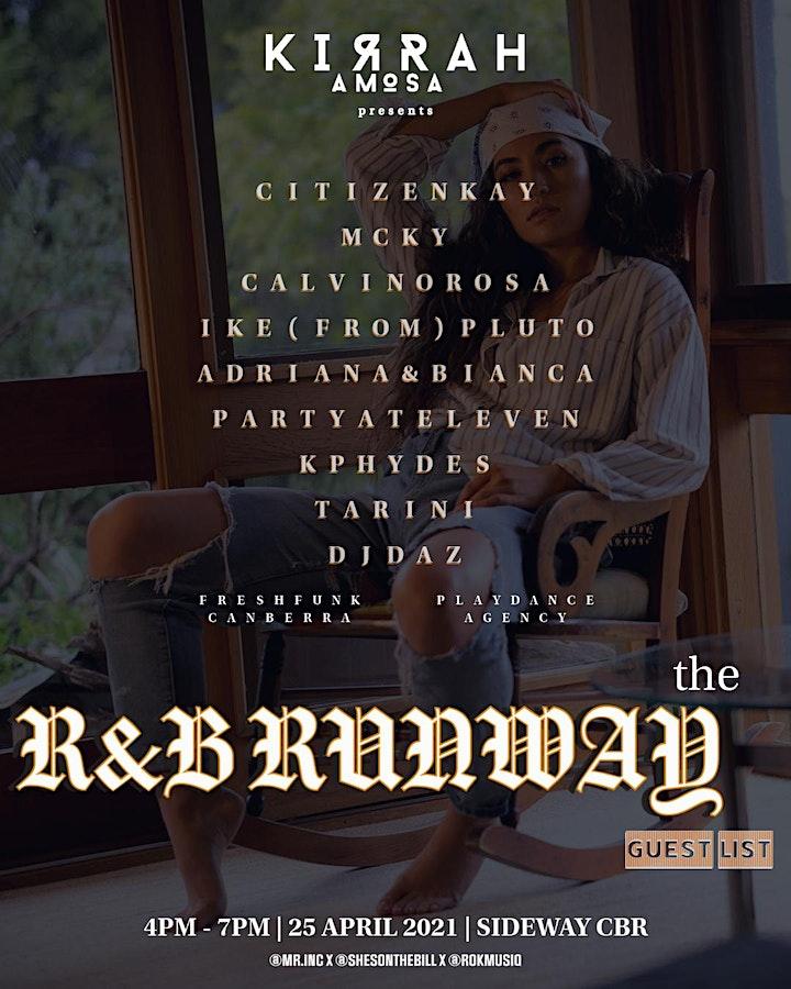 Kirrah Amosa presents: The R&B Runway image
