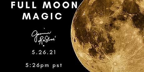 Full Moon Magic &  Soulful Flow Yoga tickets