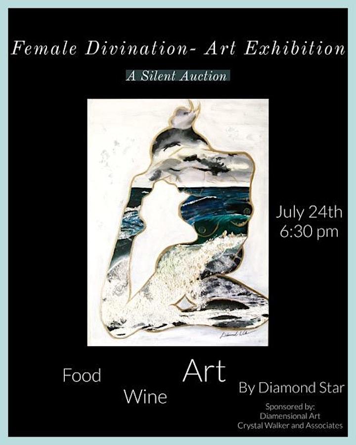 Feminine Divination- Art Exhibition image