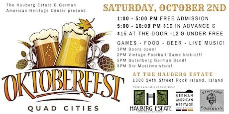 Oktoberfest QC 2021 tickets