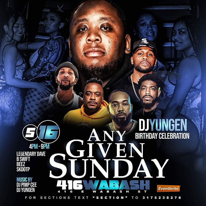 Any Given Sunday Day Party image
