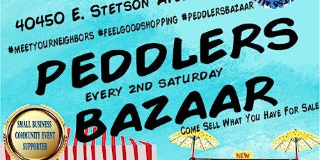 Peddlers Bazaar tickets