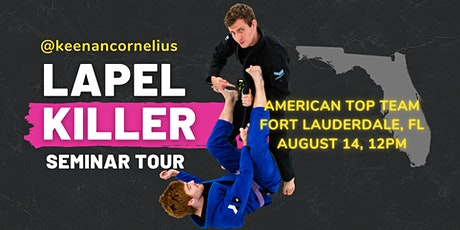 Keenan Cornelius Seminar | American Top Team | Fort Lauderdale, FL tickets