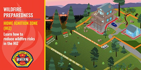 Reducing Wildfire Risks In the Home Ignition Zone (HIZ) Workshop Tickets