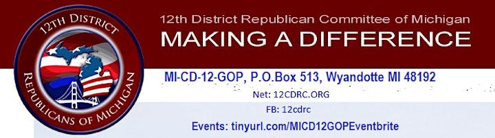 Michigan's 12th Congressional District GOP Pancake Breakfast (Kid friendly) image