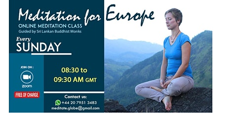 Meditation for Europe tickets