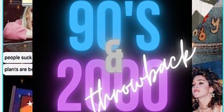 Jonjo & BL's 90's & 2000 Throwback tickets