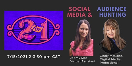 Speakers Helping Speakers: 2 FOR 1!  Social Media and Audience Hunting tickets