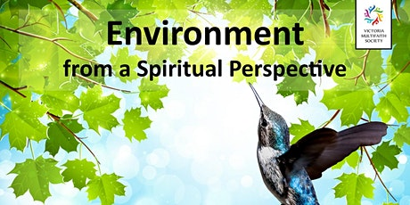 Environment from a Spiritual Perspective tickets