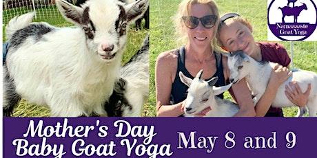 Mother's Day Baby Goat Yoga: Namaaaste Goat Yoga tickets