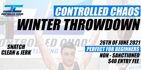 Controlled Chaos Winter Throwdown tickets