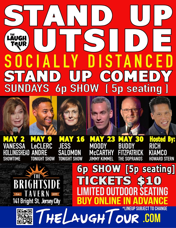 StandUp Outside! Comedy @ The Brightside image