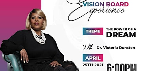 Virtual Vision Board Experience tickets