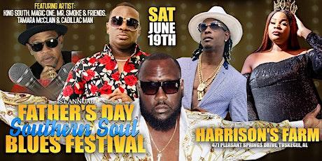 JUNE19th FATHER'S DAY BLUES FEST HARRISON'S FARM TUSKEGEE AL tickets
