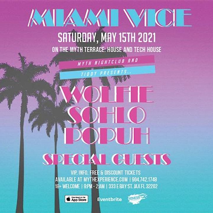 Myth Nightclub - Miami Vice | Saturday 05.15.21 image