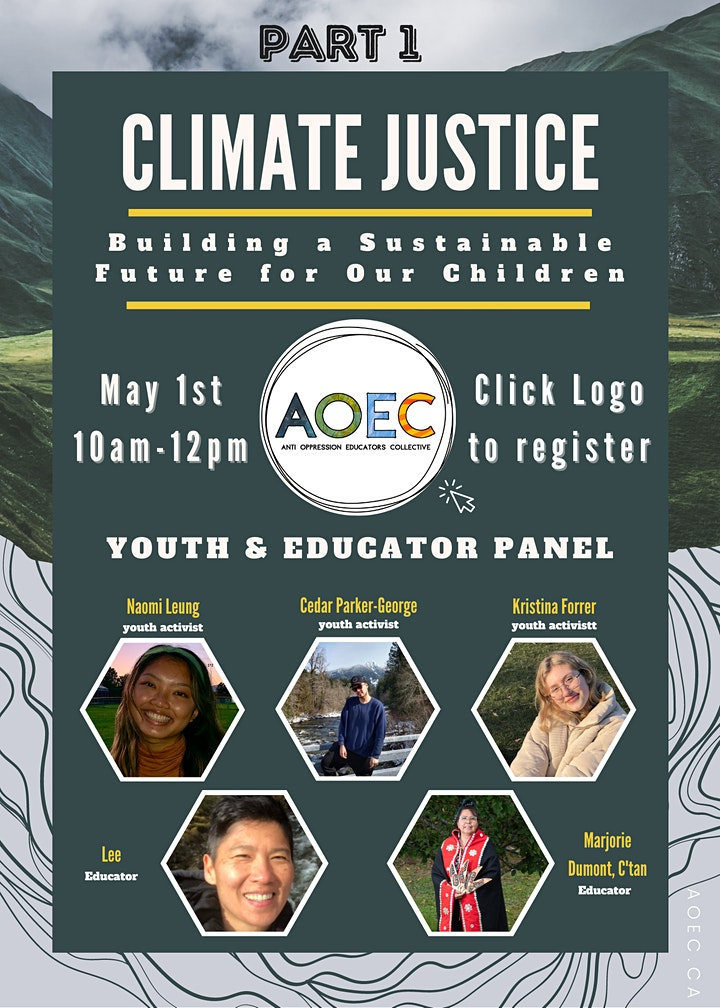 Climate Justice: Building a Sustainable Future for our Children PART 1 image