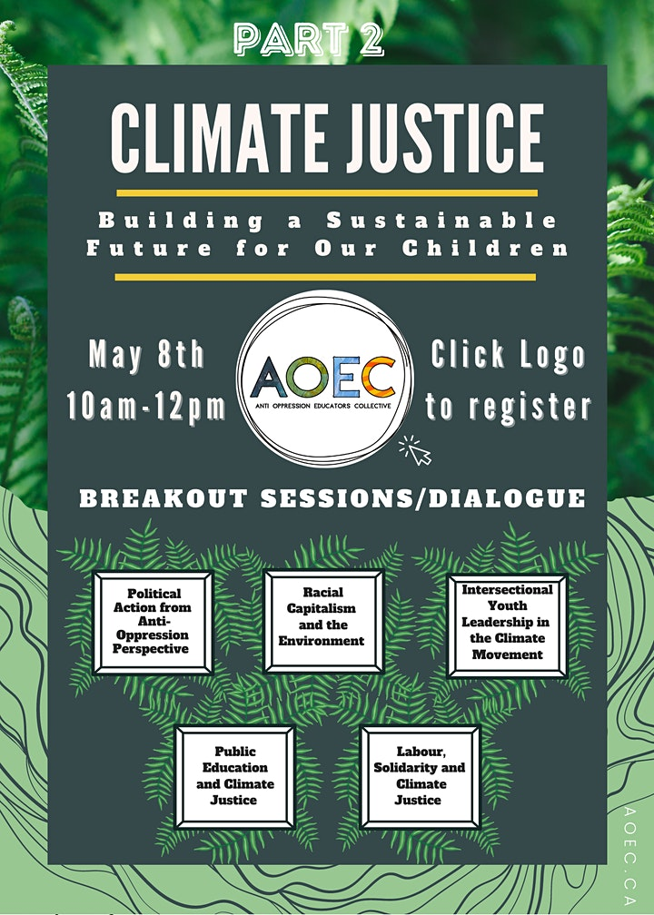Climate Justice: Building a Sustainable Future for our Children PART 2 image