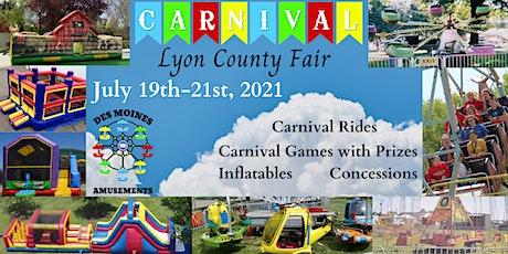 Lyon County Fair tickets