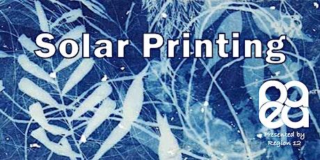 Solar Printing tickets