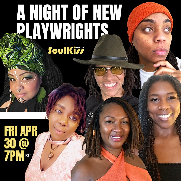 SoulKiss Theater Community Voices Reading -  A Night of New Playwrights image
