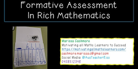 Formative Assessment in Rich Mathematics tickets