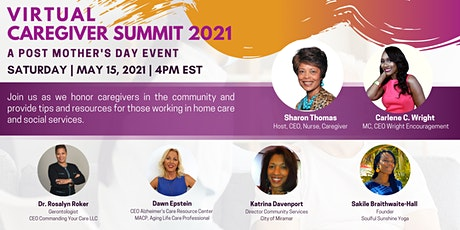 Virtual Caregiver Summit, A Post Mother's Day Event Fundraiser tickets
