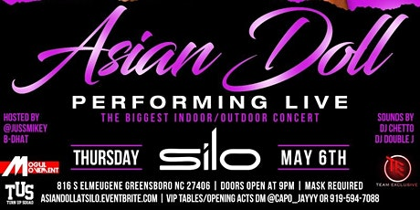 HOT GIRLZ PLAYGROUND FT ASIAN DOLL LIVE @ SILO THURS MAY 6TH | WE OUTSIDE!! tickets