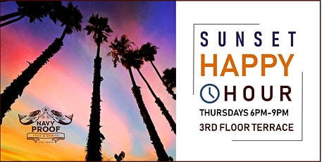 Rooftop Sunset Happy Hour 6pm-9pm tickets