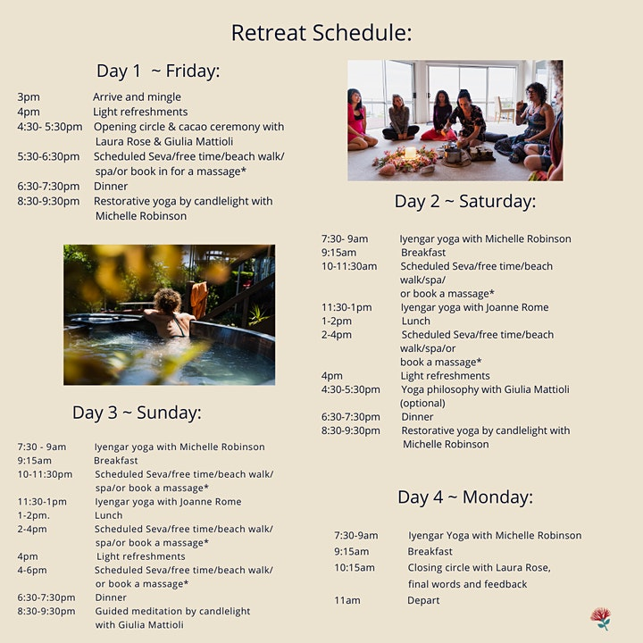 Nourish and Restore Retreat ~ June 25th - 28th image
