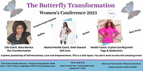 The Butterfly Transformation Women's Conference 2021 tickets