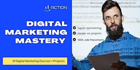 #1 Digital Marketing Mastery Boot Camp, Digital Marketing Courses 2021 tickets