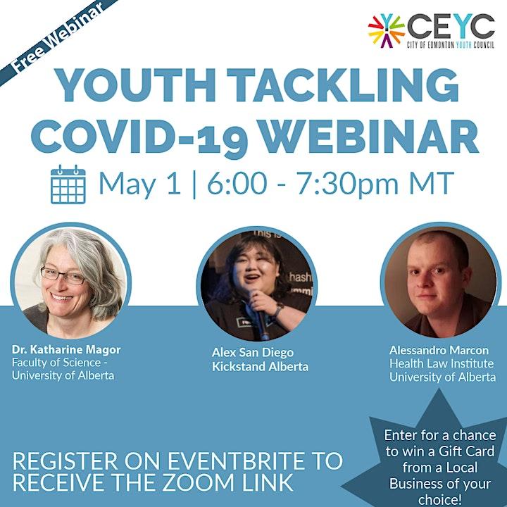 Youth Tackling COVID-19 Webinar image