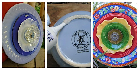 Beautiful Upcycled Garden Plate Ornament Workshop tickets