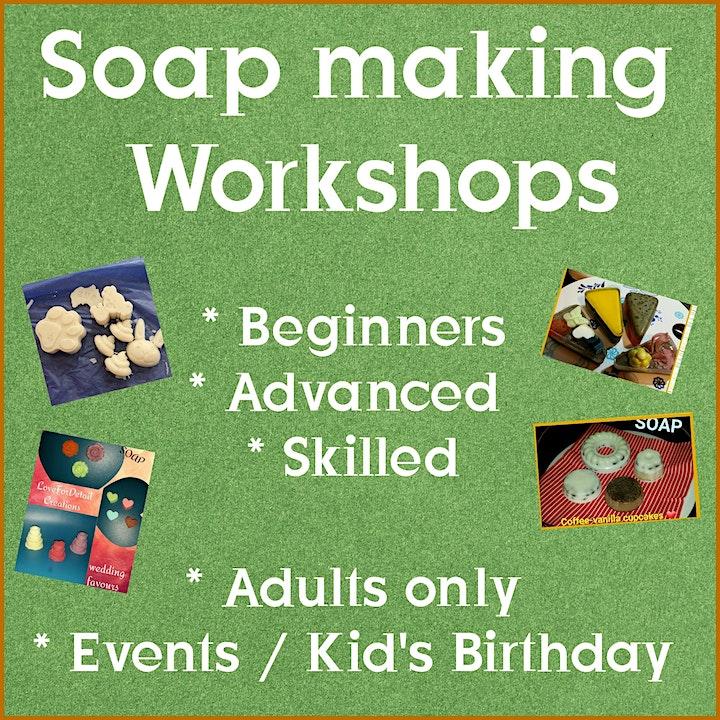 Soap Making Workshop image