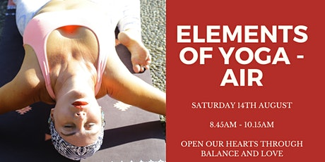 Elements Of Yoga – Air ( Open Our Hearts ) Sound Healing Journey & Yin tickets