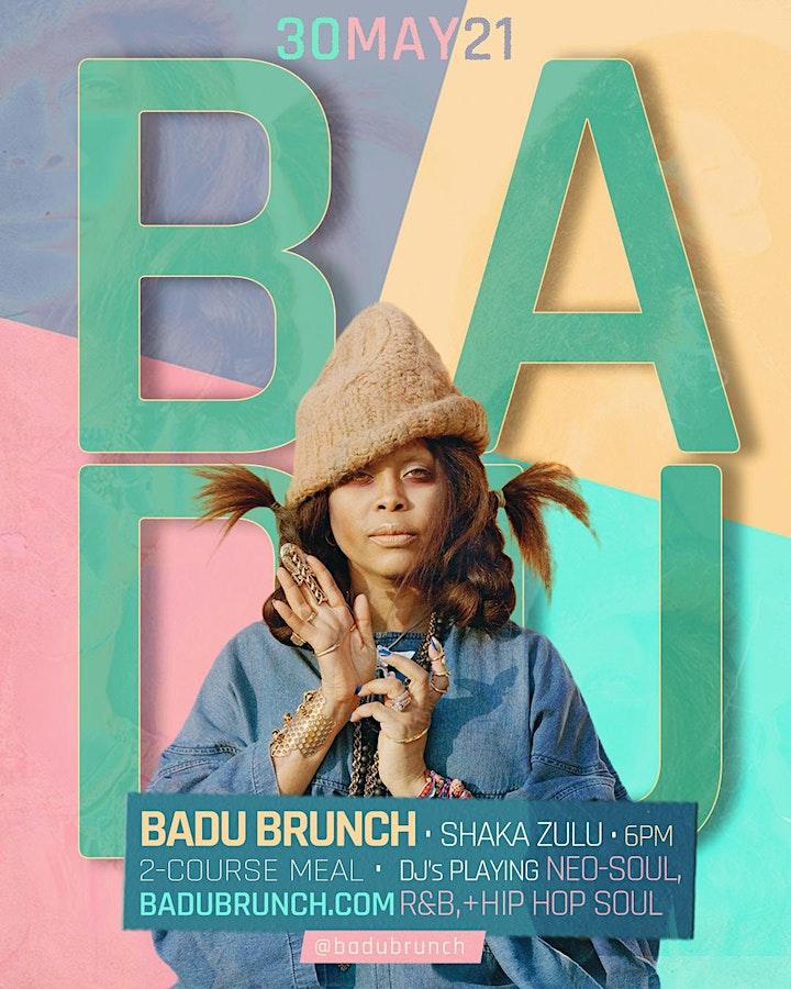 *SOLD OUT* BADU Brunch - (Neo Soul + RnB Lounge) image