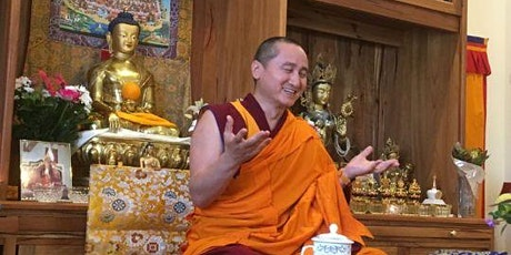 Geshe Zopa: Words of Inspiration (ONLINE) tickets