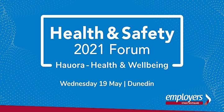 Health & Safety Forum 2021 - 'Hauora Health & Well-Being' image