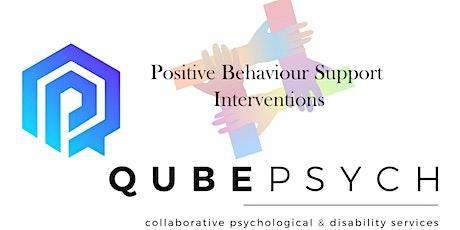 Positive Behaviour Support Series - Workshop 3 tickets