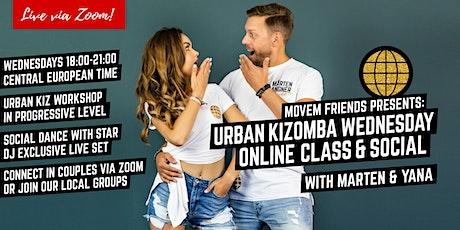 Movem Friends Urban Kizomba Wednesdays - Online & Local groups tickets