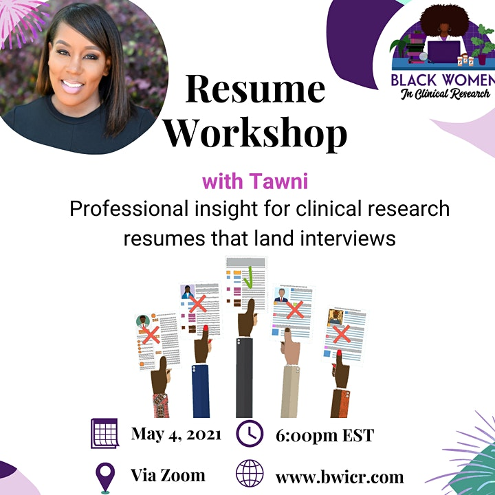 Resume Workshop with Tawni image