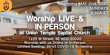 Worship at The Temple tickets