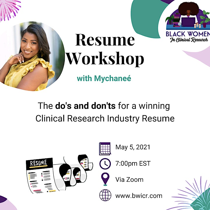 Resume Workshop with Mychanee' image