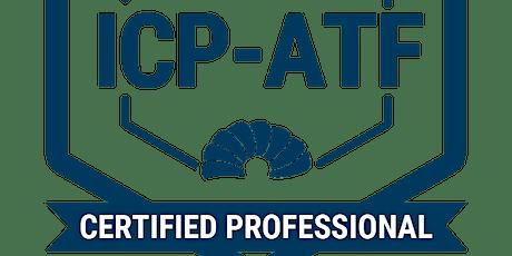 Agile Team Facilitator . ATF-Framework . Certificate ICP-ATF . remote . en tickets