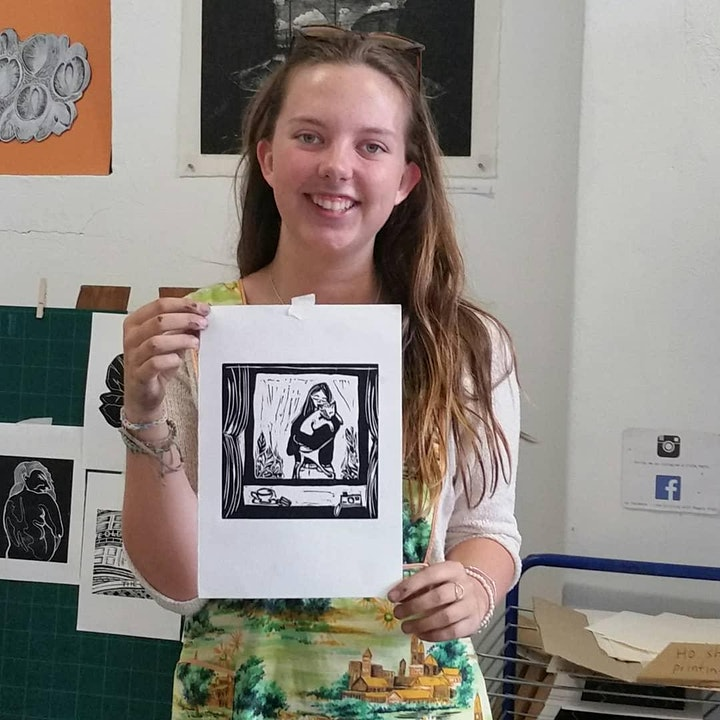 An introduction to Lino printing image